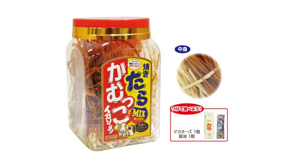 かむっこイカソーメンたらミックスミニ角ポット(マヨ・醤油付)